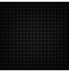 Black metallic texture template vector