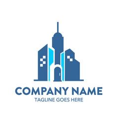 building logo-16 vector image