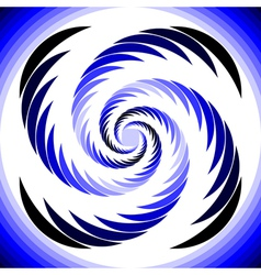 Design abstract circular whirl movement background vector