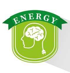 energy ideas design vector image