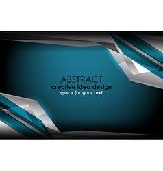Geometric template design vector