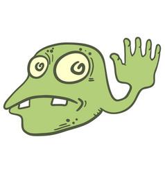 green germ vector image