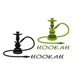 Hookah set vector