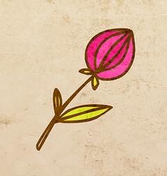 Rose cartoon vector