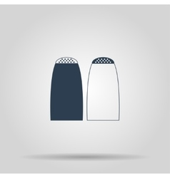 Salt and pepper icon vector image