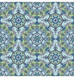 Mandala seamless patternOrient ethnic ornament vector image vector image