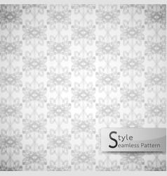 abstract seamless pattern lattice bow ribbon vector image vector image