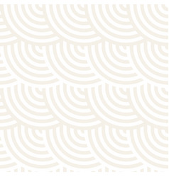 seamless monochrome geometric pattern abstract vector image vector image