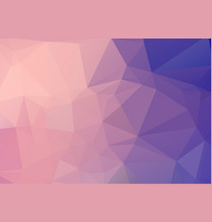abstract background consisting of pink blue vector image