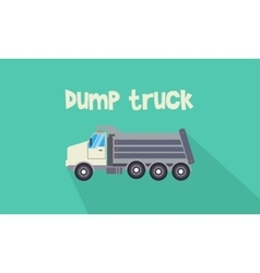 Dump truck collection vector