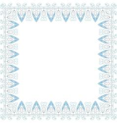 invitation border vector image