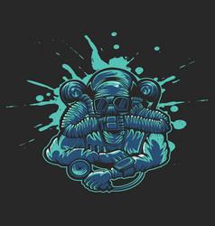 rebreather design vector image