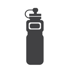 sport water bottle icon vector image