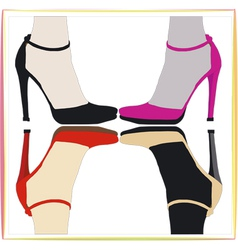 The four Shoes vector