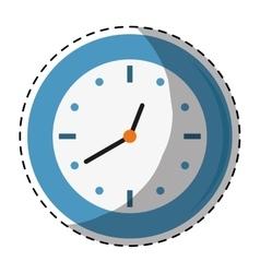 Wall clock icon image vector