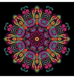 Abstract festive ethnic mandala background vector