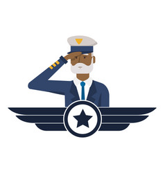 Airforce man design vector