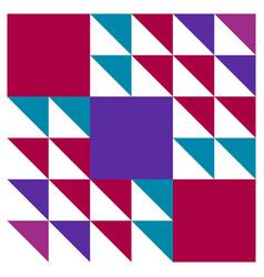 Barn quilt pattern amish patchwork design vector
