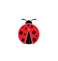 beauty bug icon vector image