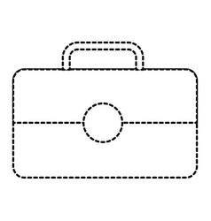 business briefcase portfolio tool icon vector image
