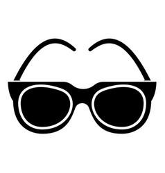 goggles - sunglasses icon vector image