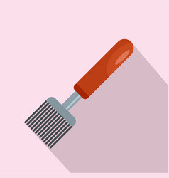 honey tool icon flat style vector image