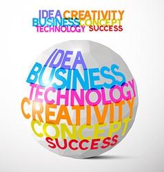 Idea Business Technology Creativity Concept vector