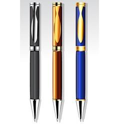 Set pens vector