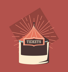 tickets store icon vector image