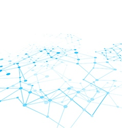 Abstract background network connect concept 009 vector image