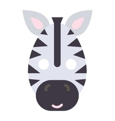 Animals carnival mask icon vector