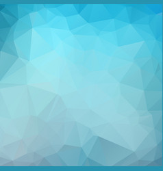 dark blue color polygon background design vector image