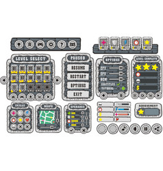 game gui 13 vector image