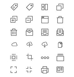 IOS and Android Icons 1 vector