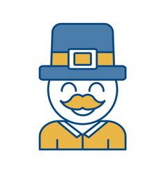 Irish hat design vector