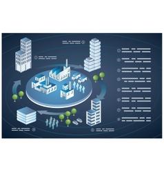 Isometric Buildings city vector