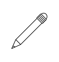 pencil implement writing vector image
