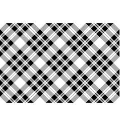 Pixel check fabric texture seamless black white vector