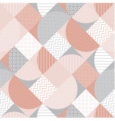 striped diagonal geometric seamless pattern vector image