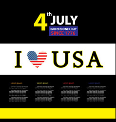 Tag for sign independence day vector
