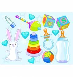 boy toys vector image vector image