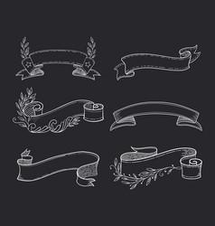 ribbon vector image vector image