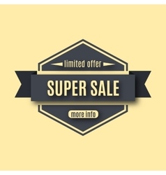 Set sale labels vector image vector image