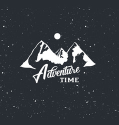 Adventure time label vector