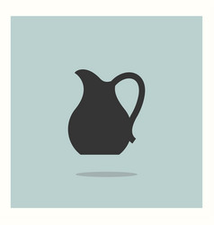 jug icon simple vector image
