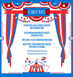 poster good show vector image