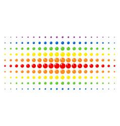 Sphere spectrum halftone array vector