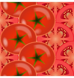 Tomato vegetables vector