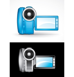 video camcorders vector image vector image