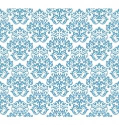 damask background vector image vector image